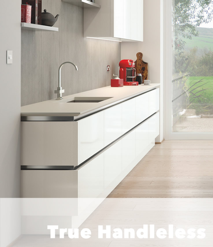 True Handleless Kitchens Altrincham